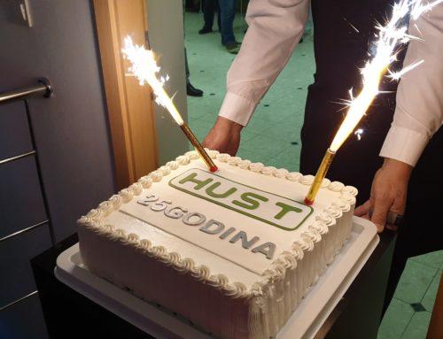 HUST d.o.o. svečano obilježio 25 godina uspješnog poslovanja